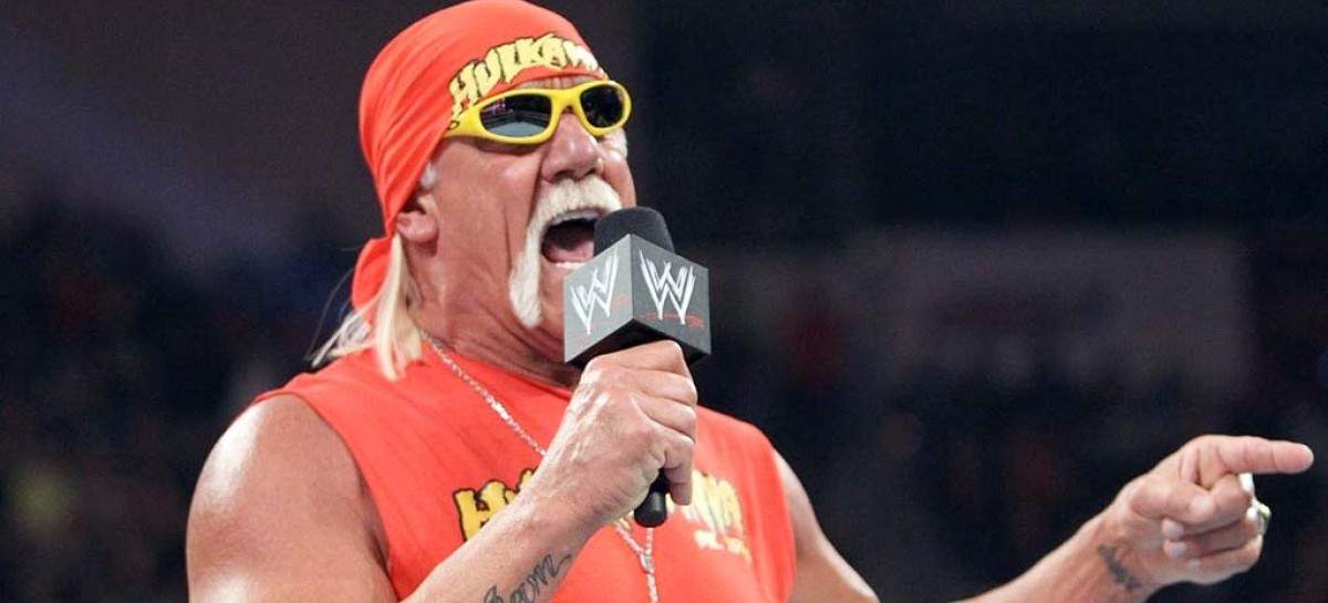 Hulk Hogan appears on The Arsenio Hall Show