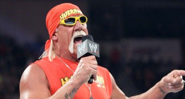 Hulk Hogan on RAW tonight from Chicago