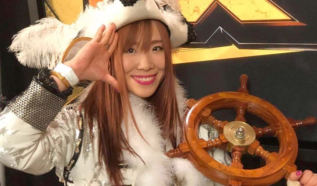 Few fans at NXT event yell stereotypical insults at Kairi Sane