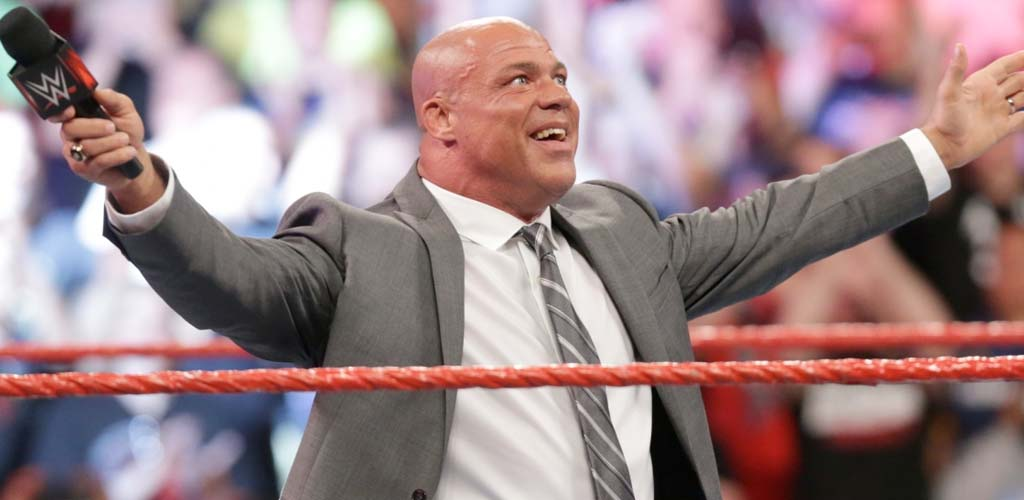 "Kurt Angle placed on ""temporary vacation"" from his Raw GM duties"