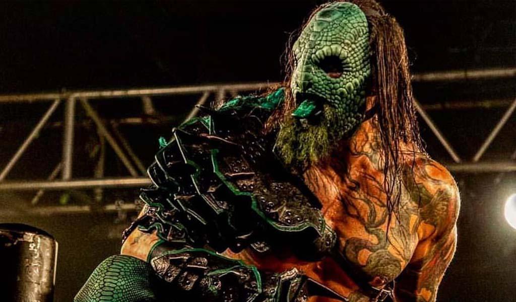 Luchasaurus joins All Elite Wrestling