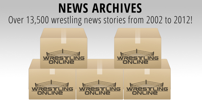 Wrestling-Online Archives launched with 13,500+ articles!