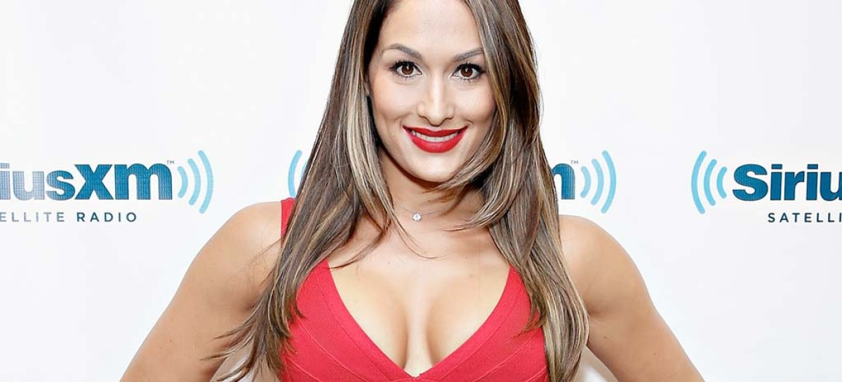 Nikki Bella gets wet….from the ALS Ice Bucket Challenge