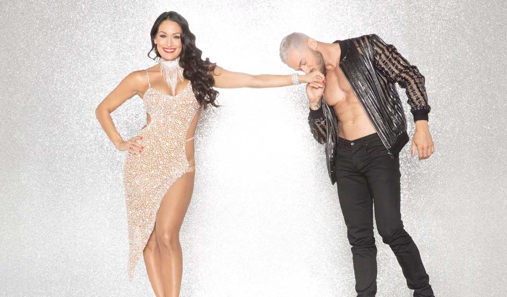 Nikki Bella on Dancing With The Stars starting tonight on ABC