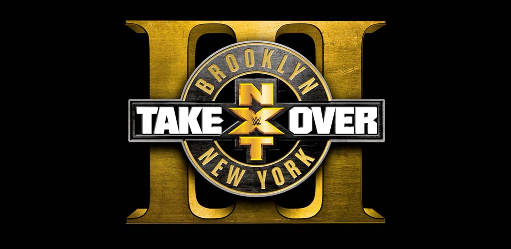 NXT Takeover: Brooklyn III logo and ticket sales information