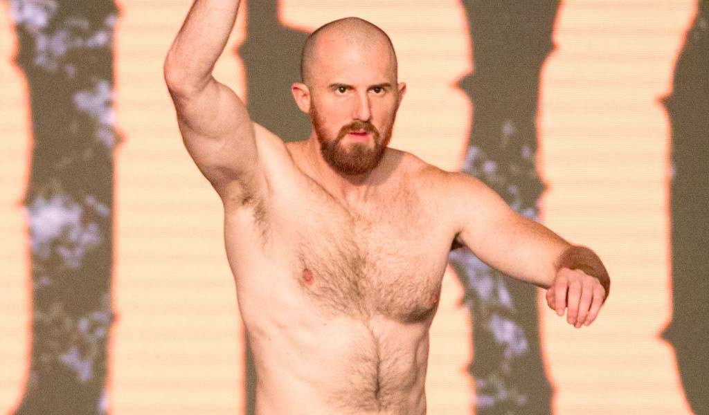 NXT's Oney Lorcan breaks orbital bone and requires surgery