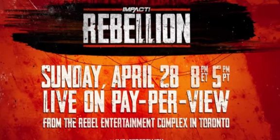 Impact Wrestling announces Rebellion pay-per-view from