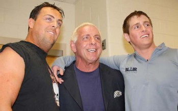 Ric Flair shares emotional story from son's funeral at WWE 2K14 panel