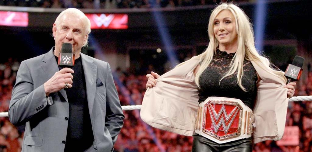 Ric and Charlotte Flair releasing new book in 2017