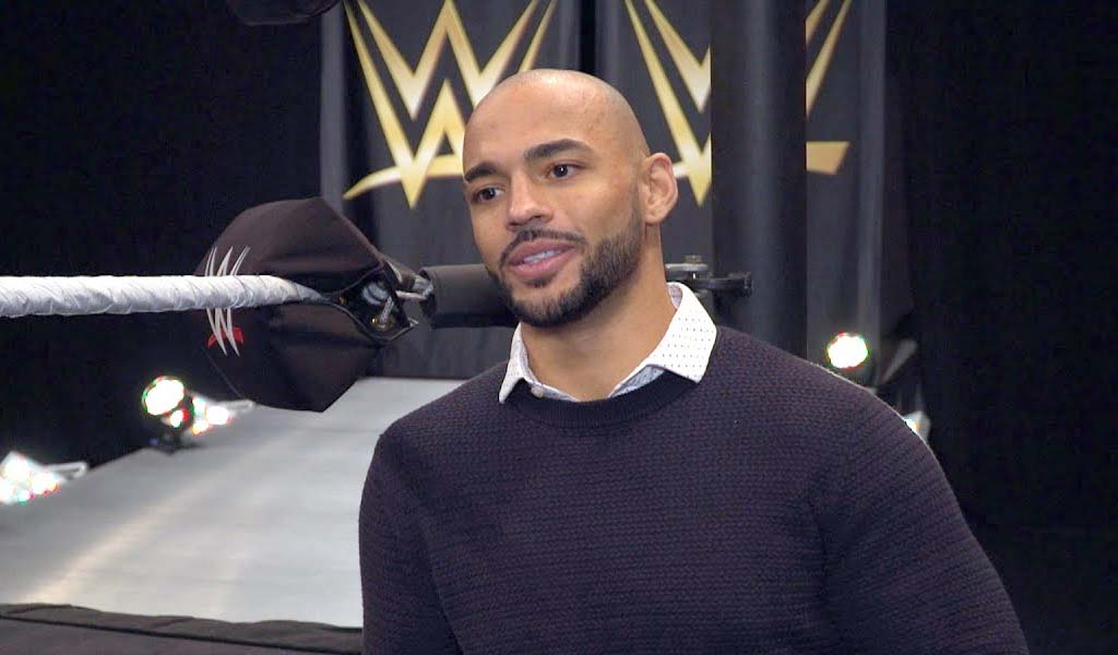 Ricochet emulates The Rock at NXT live event…and gets praised by the People's Champion!