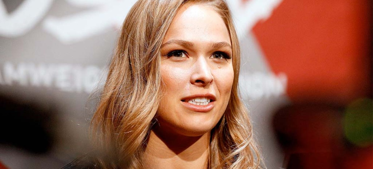 Ronda Rousey nominates The Rock for ALS Ice Bucket Challenge