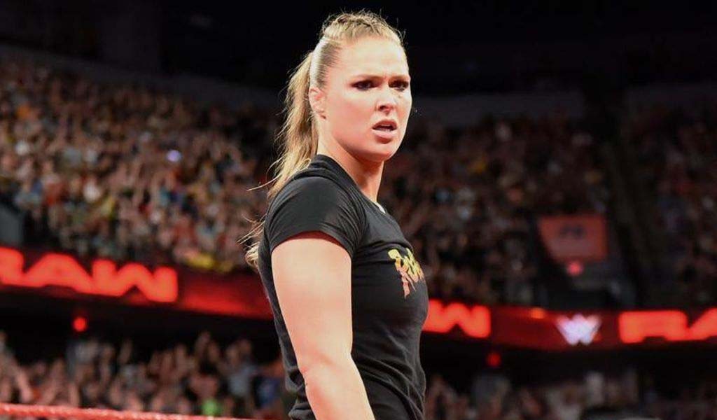 Ronda Rousey featured in this week's Kevin Hart's Cold As Balls show