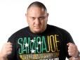 Samoa Joe wrestles at NXT tapings
