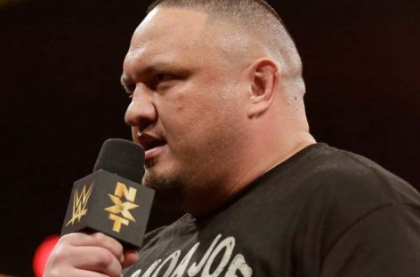Samoa Joe makes NXT wrestling debut tonight