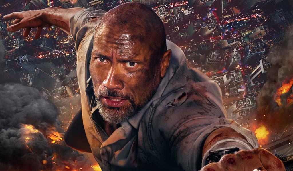 Dwayne Johnson's Skyscraper movie rebounds thanks to international success