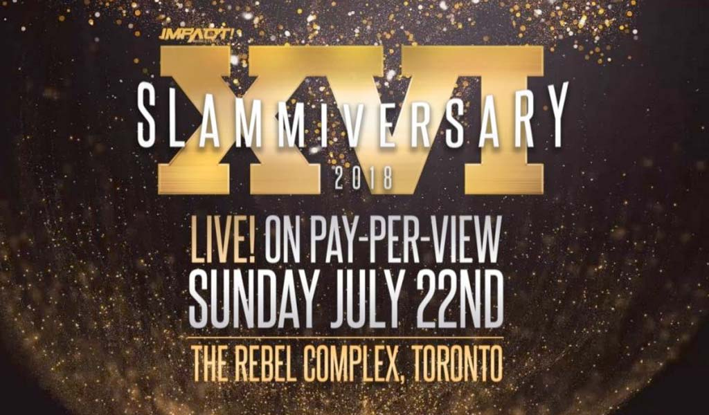Slammiversary XVI pay-per-view results