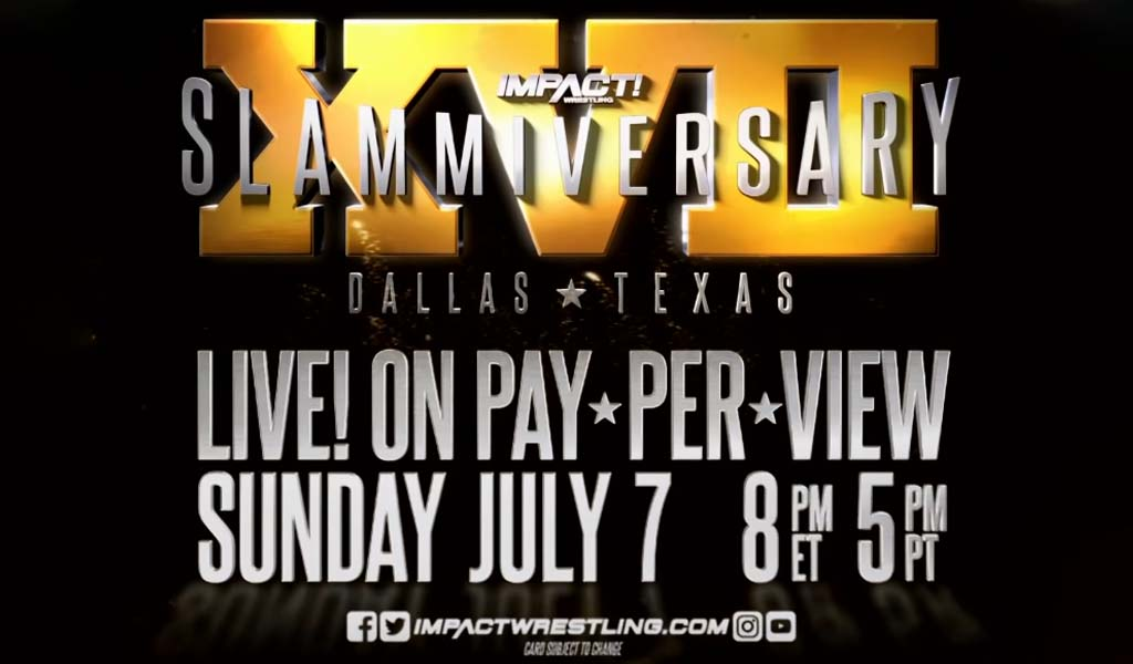 Main event title match for Slammiversary XVII announced