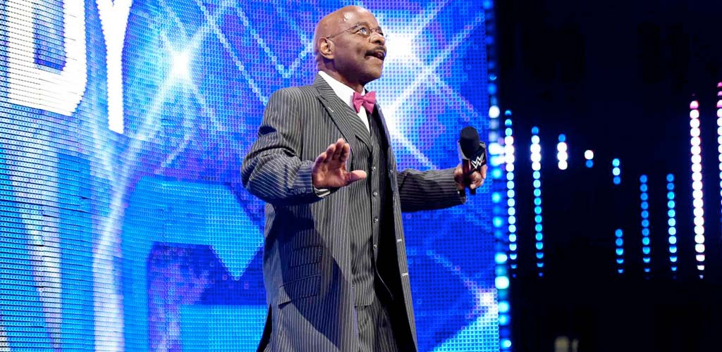 Teddy Long makes surprise appearance on Raw
