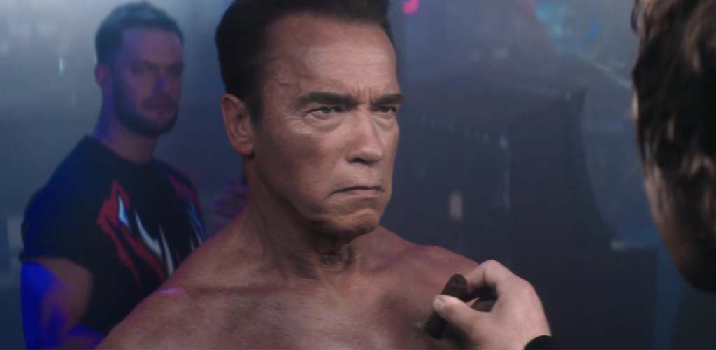 Schwarzenegger comments on his WWE video game debut