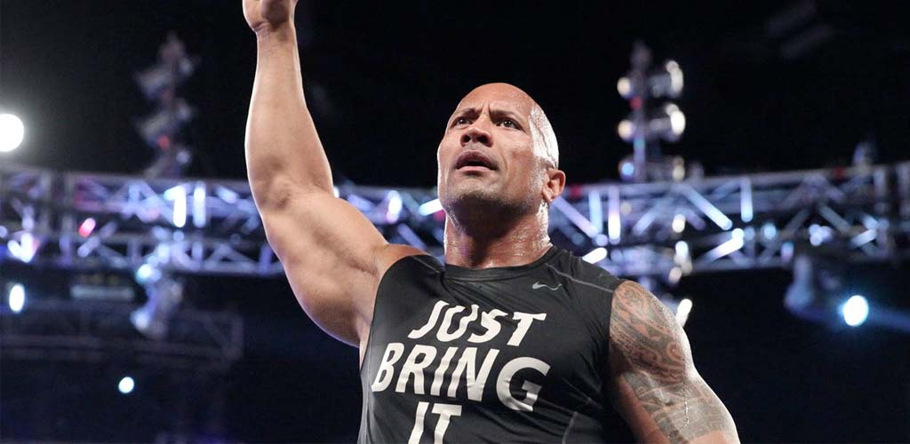 The Rock returns on Raw and is interrupted by The New Day