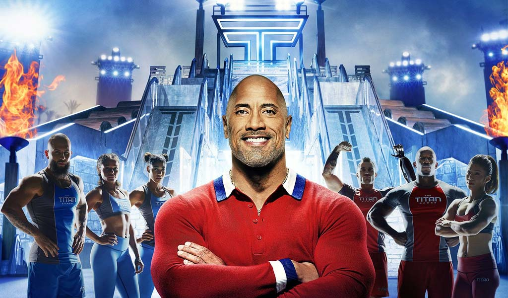 "Dwayne ""The Rock"" Johnson back on network TV tonight with NBC's The Titan Games"