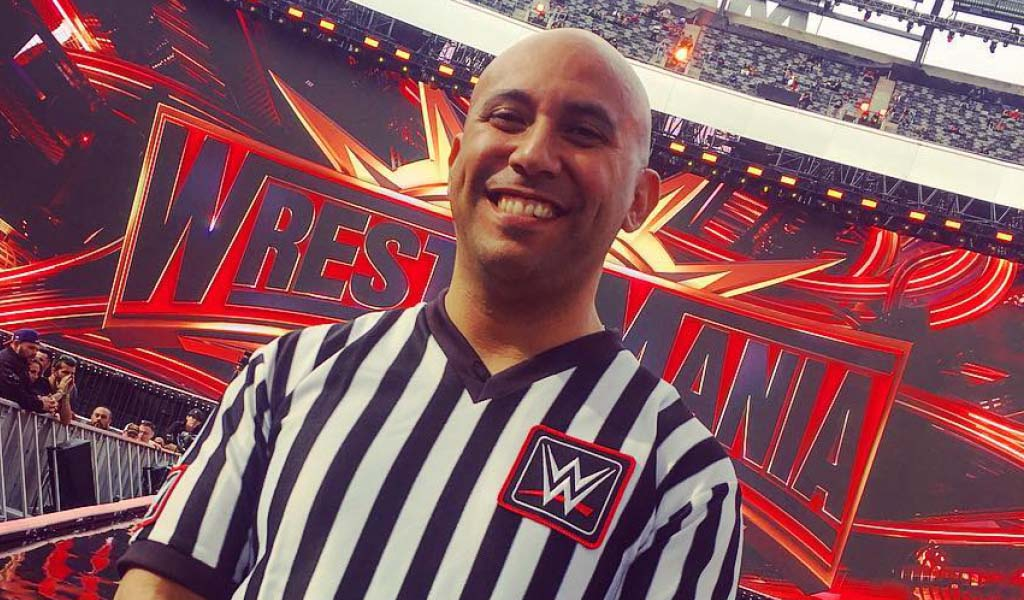 NXT ref Tom Castor thanks fans and co-workers after breaking his leg in the ring