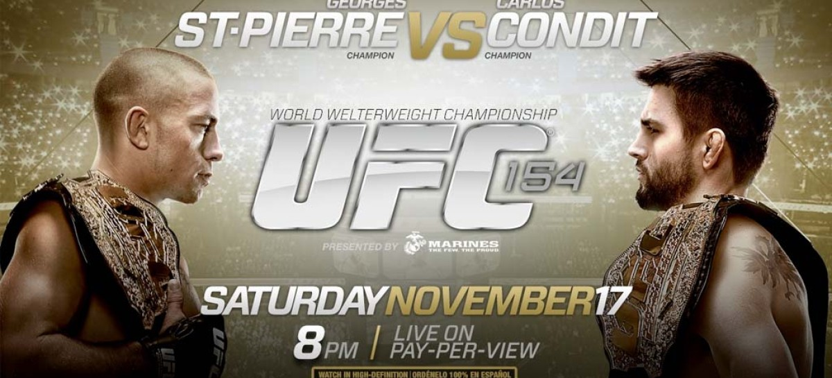 UFC 154: St-Pierre vs Condit media call recap