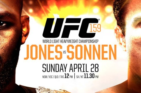 UFC 159 preliminary card results
