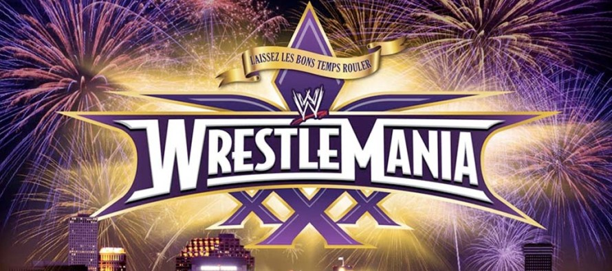 DISH Network to offer WrestleMania XXX on pay-per-view