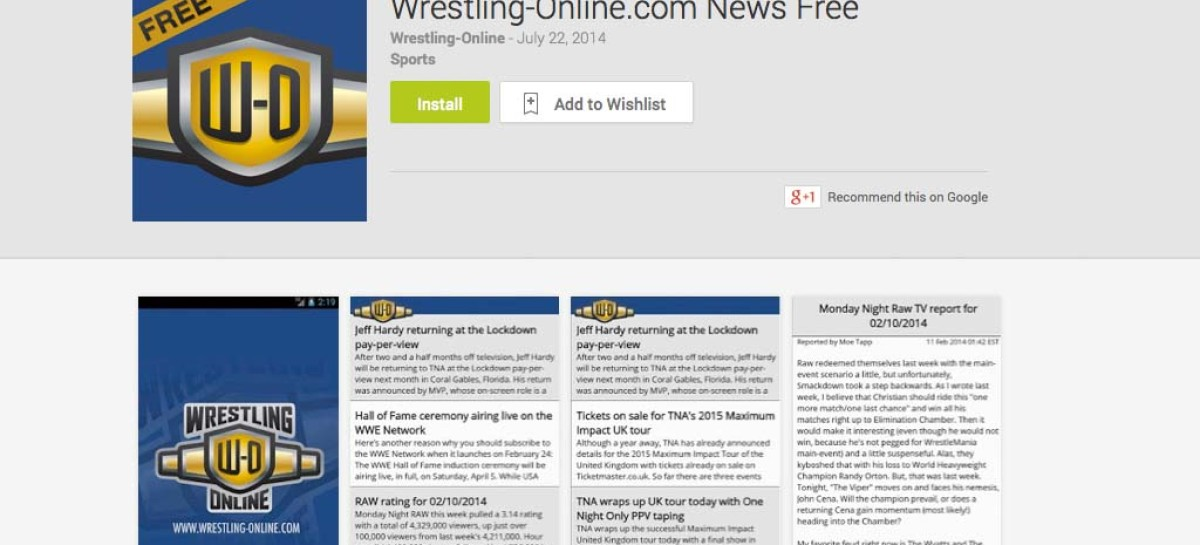 Free W-O News app for Android released on Google Play Store