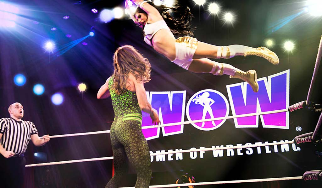 All-women's pro wrestling league WOW to start airing on AXS TV in 2019