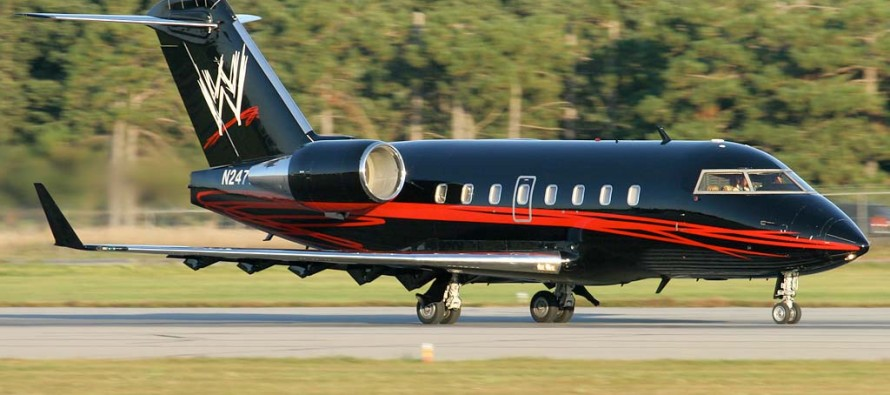 WWE to acquire new corporate jet