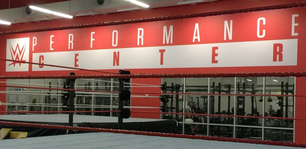 Ricochet, War Machine, Kacy Catanzaro and others start at the WWE Performance Center