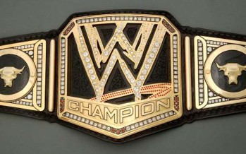 New WWE replica title for sale for $449.99