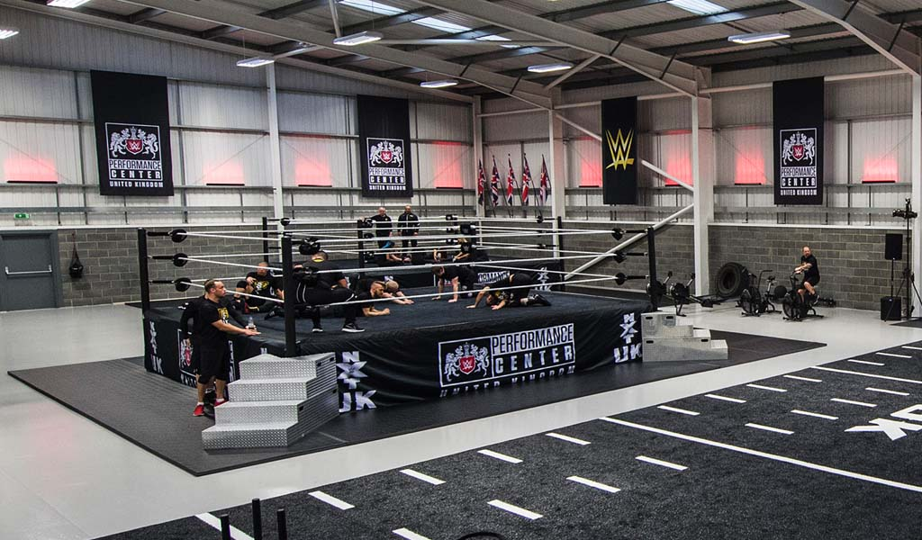A look inside the WWE UK Performance Center