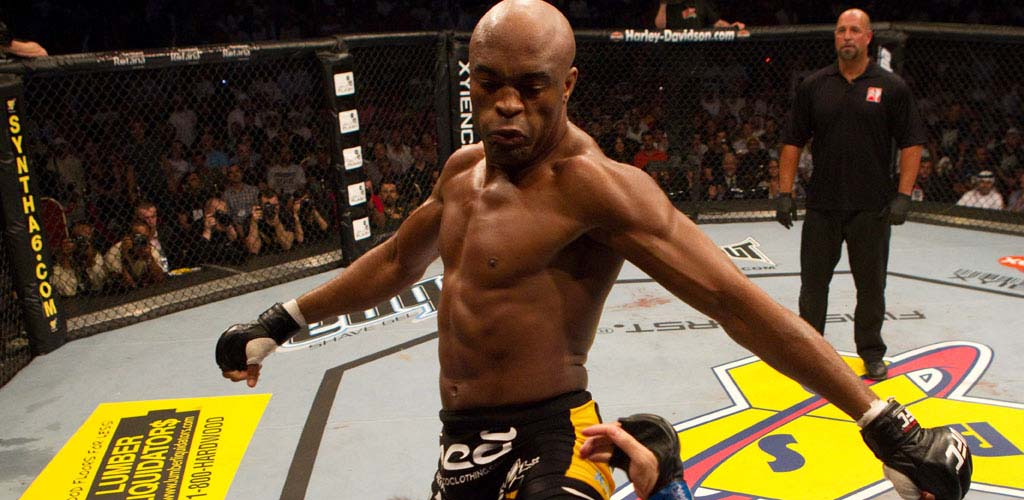 Anderson Silva steps up to main event UFC 153 in Brazil