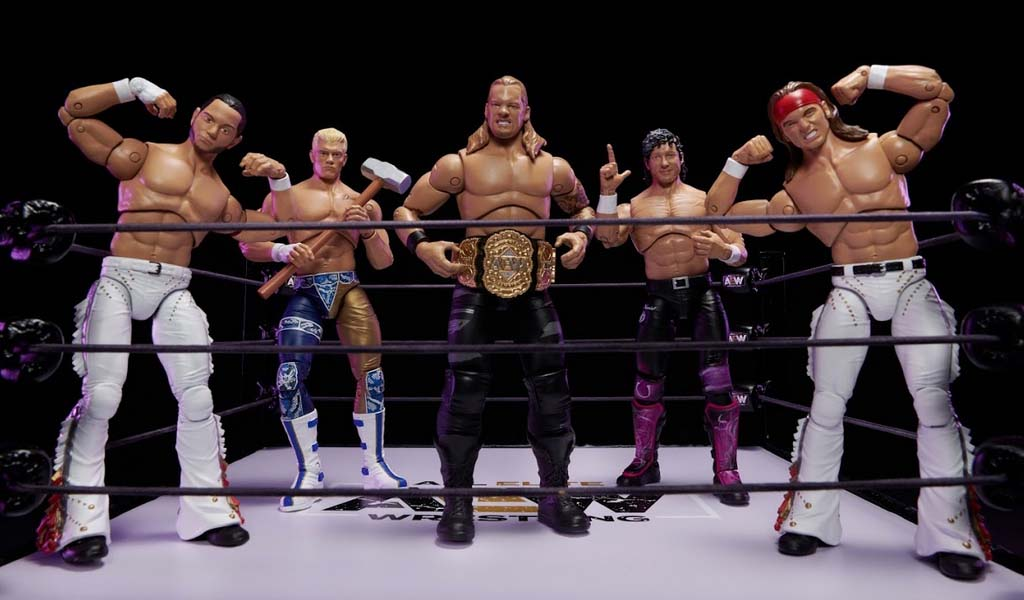 First look at the brand new AEW action figures from Jazwares