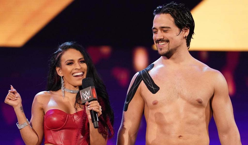 WWE Superstar Angel Garza marries Zaide Lozano