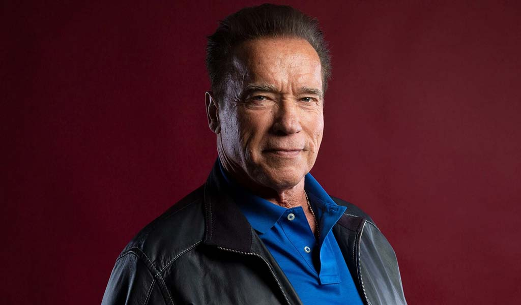 Arnold Schwarzenegger pays his respects to Shad Gaspard