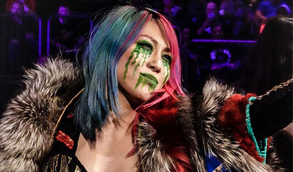 Asuka left in the dark over Raw Women's title and Becky's pregnancy