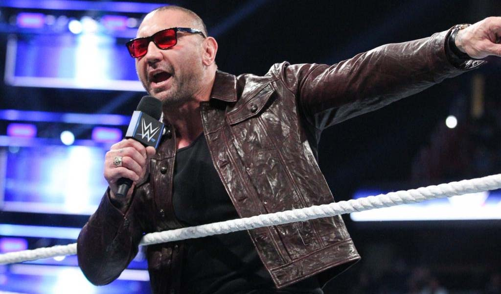 Batista already picked who he wants to induct him in the WWE Hall of Fame