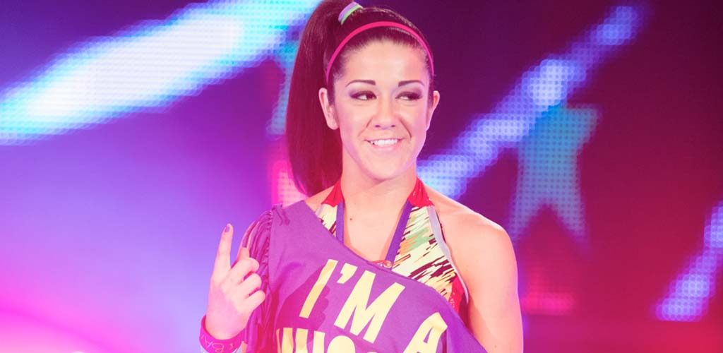 It's Bayley! NXT star debuts at Battleground