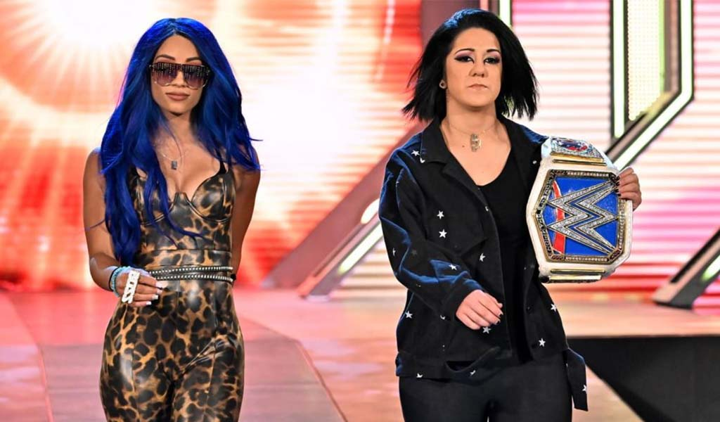 Bayley and Banks explode on Smackdown as Bayley turns on her best friend