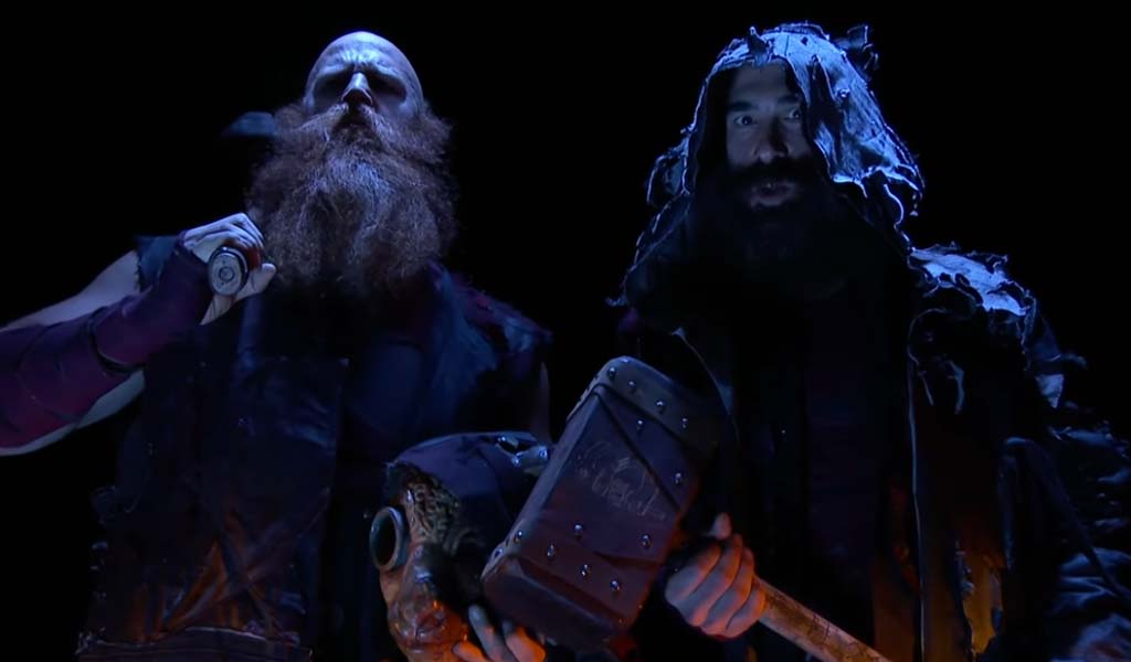 Luke Harper and Erick Rowan returning as the Bludgeon Brothers