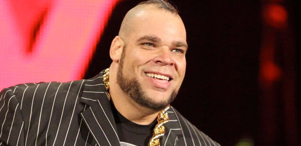 Brodus Clay shows up at TNA tapings in Bethlehem, Pennsylvania