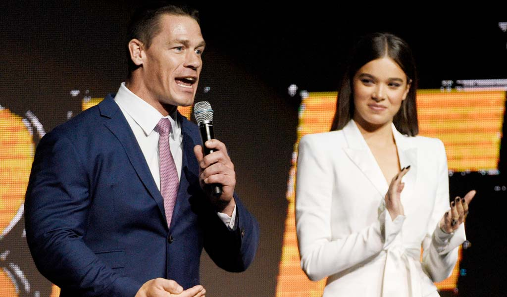 Check out the latest Bumblebee trailer featuring John Cena from Paramount Pictures