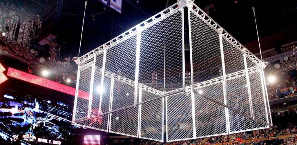 Labor Day Raw to feature steel cage match