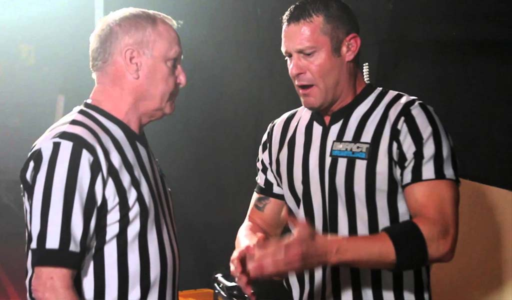 Referee Brian Hebner departs Impact Wrestling