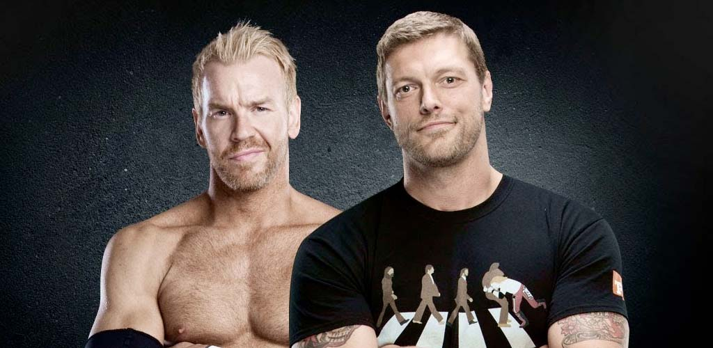 Edge and Christian enter the podcasting world