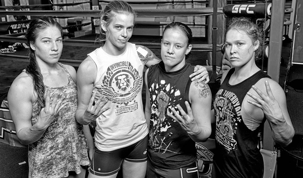 4 Horsewomen of MMA members Baszler, Shafir, and Duke headline NXT live event